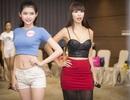 Siêu mẫu Hà Anh chăm chỉ tập luyện thí sinh trước chung khảo