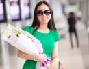 Hà Phương gây bất ngờ khi đáp chuyên cơ riêng về Việt Nam