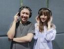 Trấn Thành tận tình hướng dẫn bạn gái Hari Won trong phòng thu