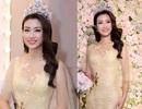 Hoa hậu Đỗ Mỹ Linh khoe nhan sắc ngọt ngào hậu đăng quang