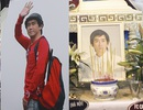 Tiếc thương hình ảnh Minh Thuận vẫy chào khán giả và người thân lần cuối...