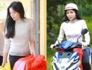 Hoa hậu Kỳ Duyên đi thiện nguyện bằng xe máy sau ồn ào