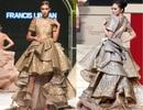 """Người mẫu Nguyễn Oanh """"đụng váy"""" với Hoa hậu Quốc tế Philipines 2016"""