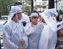 Gia đình, bạn bè nghẹn ngào tiễn biệt NSƯT Quang Lý