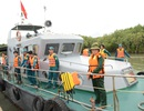 Tàu 2.000 tấn chìm trên sông Soài Rạp, 5 người mất tích