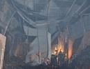 Cháy lớn kho chứa vải vụn, hàng chục người ôm tài sản tháo chạy