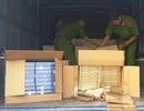 Triệt phá đường dây vận chuyển thuốc lá lậu từ Campuchia về Việt Nam
