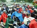 Sài Gòn kẹt xe khủng khiếp trong cơn mưa lớn sáng đầu tuần