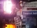 Cháy lớn ở phố Tây, hàng trăm người hoảng loạn