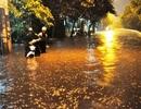 Bước vào mùa khô, Sài Gòn vẫn mưa ngập diện rộng