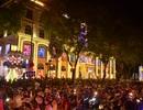 Trung tâm Sài Gòn ùn tắc kéo dài, kẹt cứng trong đêm Noel