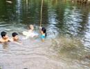 Hai anh em họ chết đuối thương tâm khi tắm sông