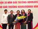 Nữ bác sĩ ứng dụng lọc máu cứu người, nhận giải thưởng Quốc tế