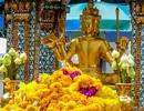Hình ảnh ngôi đền linh thiêng ở Bangkok trước khi bị đánh bom