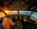 """Hình ảnh đẹp """"ngạt thở"""" nhìn từ khoang lái máy bay"""