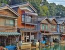 """""""Venice của Nhật Bản"""" lênh đênh bên dòng nước xanh"""
