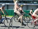 Hàng trăm người đạp xe trên phố trong tình trạng... khoả thân