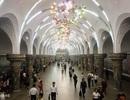Hệ thống tàu điện ngầm hiện đại sâu nhất thế giới ở Triều Tiên