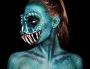 Cô gái 16 tuổi có sở thích biến mình thành... quái vật