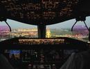 """""""Đẹp ngạt thở"""" ảnh chụp từ buồng lái phi công"""