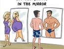 Sự khác biệt quá lớn giữa đàn ông và phụ nữ qua chùm ảnh vui
