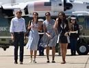 Khoảnh khắc tuyệt vời của gia đình Tổng thống Obama trong các kì nghỉ