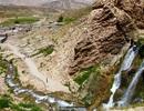 Sông băng bí ẩn giữa sa mạc khô cằn