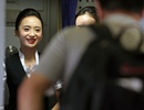 Nụ cười rạng rỡ của nữ tiếp viên hàng không đẹp nhất thế giới