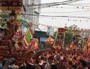 """Độc đáo """"kiệu bay"""" ở hội làng Thượng Lâm Trang"""
