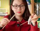 Khoa học vui: Kỳ lạ túi zipper bị đâm thủng mà nước không chảy ra ngoài