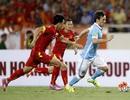Giá trị đi xuống của đội tuyển Việt Nam sau trận thua Man City