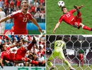 Bàn thắng của Shaqiri được bình chọn là đẹp nhất Euro 2016 trên internet