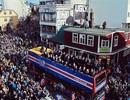 Người dân Iceland đổ hết ra đường mừng đội tuyển trở về