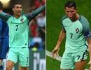 C.Ronaldo ghi bàn vào lưới Wales là nhờ... đổi áo