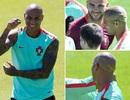 Ngôi sao Bồ Đào Nha làm điệu... lấy may trước trận chung kết Euro 2016