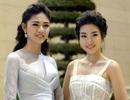 Hoa hậu Mỹ Linh, Á hậu Thanh Tú khoe vẻ đẹp dịu dàng, thanh khiết