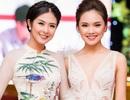Tố Như khoe sắc bên hoa hậu Ngọc Hân