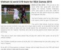 Làng bóng đá khu vực ngạc nhiên khi Việt Nam cử đội U19 dự SEA Games 2015