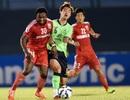 B.Bình Dương không kịp dự họp báo trước trận gặp Shandong Luneng