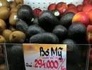 Bơ Việt chất đống, bơ Mỹ giá gần 400.000 đồng/kg vẫn bán chạy