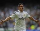 Giá chuyển nhượng James Rodriguez tăng 45 triệu euro chỉ sau 1 năm