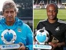 Premier League: Andre Ayew và Manuel Pellegrini hay nhất tháng 8