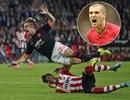 Roy Keane ca ngợi cú tắc bóng khiến Shaw gãy chân