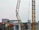 Hà Nội: Sẽ xử lý nghiêm các công trình có cẩu tháp không an toàn