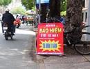"""Bảo hiểm xe máy """"giá bèo"""" bán đầy đường"""