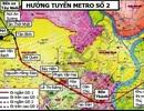 Dự án tuyến metro số 2 đội vốn hơn 700 triệu USD