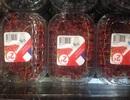 Cận cảnh nho chuỗi ngọc 2 triệu đồng/kg trong siêu thị Pháp