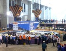 Tiến hành lắp đặt tổ máy số 1 Nhà máy thủy điện Lai Châu