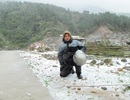 Du khách đổ về Yên Tử ngắm tuyết