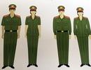 Bộ Công an thống nhất sử dụng trang phục trong ngành Công an nhân dân